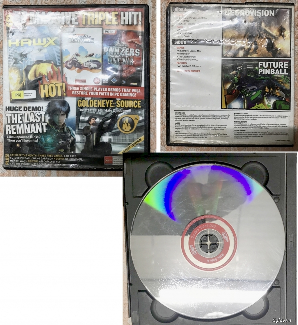 Cần bán : Linh kiện, phụ kiện, băng dĩa máy Game cập nhật thường xuyên - 5