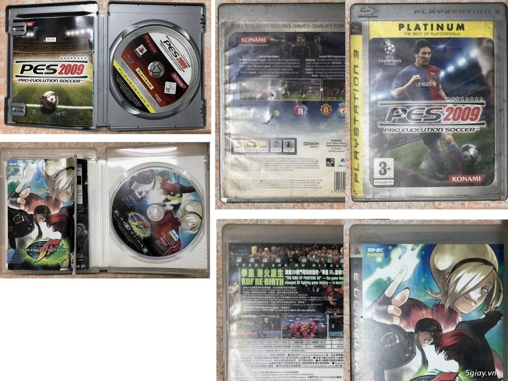 Cần bán : Linh kiện, phụ kiện, băng dĩa máy Game cập nhật thường xuyên - 2