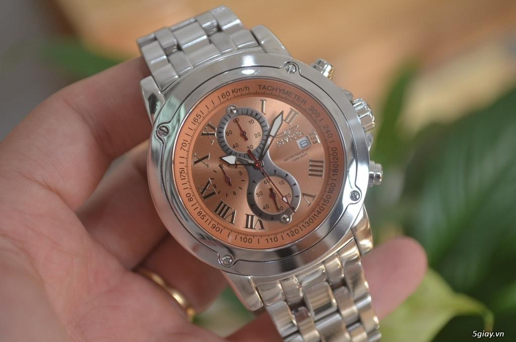 Thanh lý đồng hồ INVICTA chính hãng Mỹ cho người tay lớn - 4