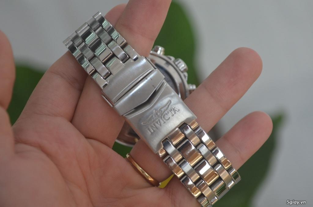 Thanh lý đồng hồ INVICTA chính hãng Mỹ cho người tay lớn - 7