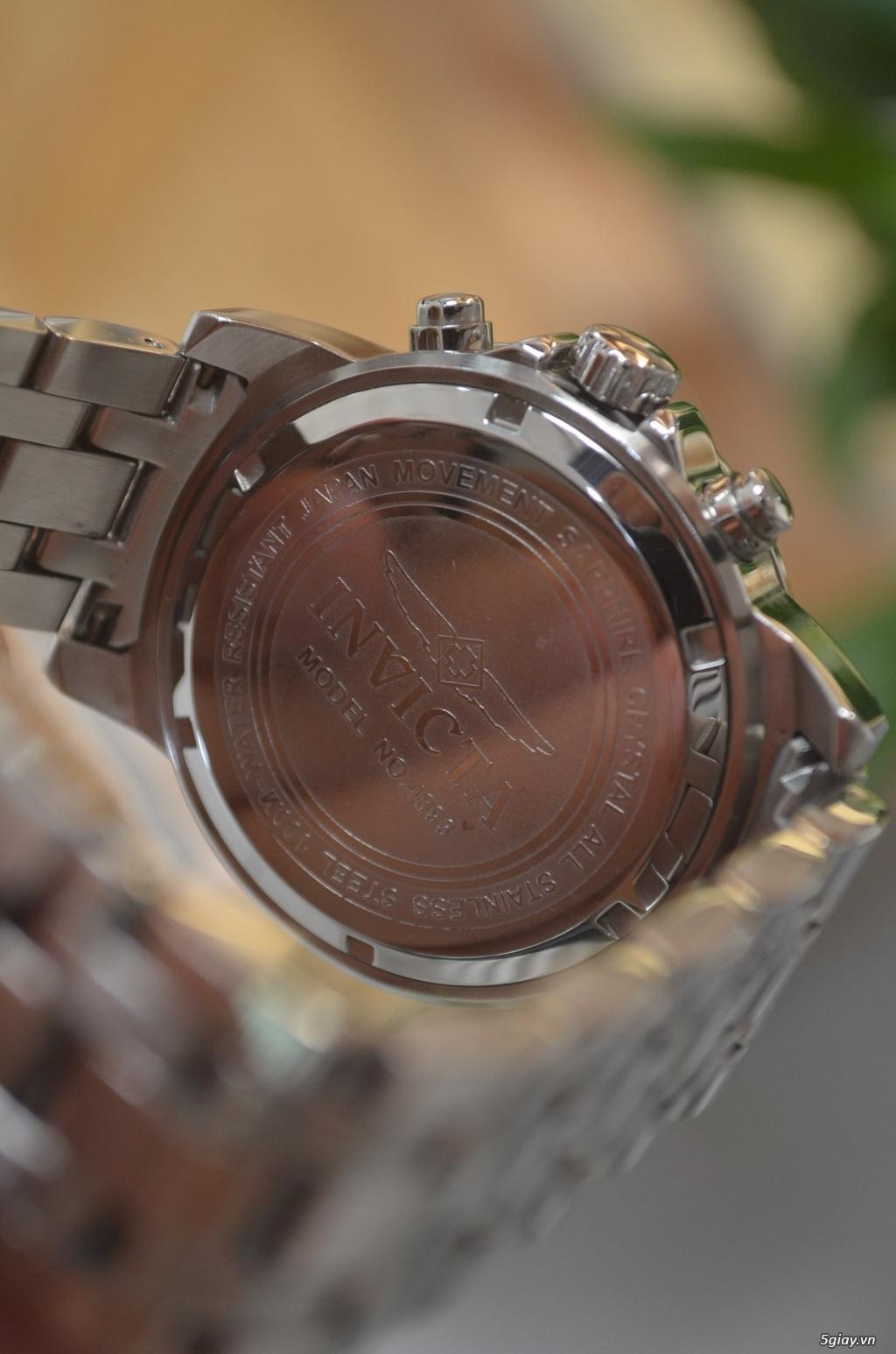 Thanh lý đồng hồ INVICTA chính hãng Mỹ cho người tay lớn - 10