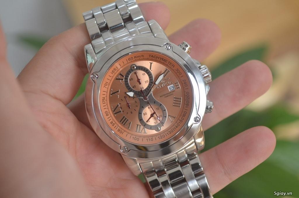 Thanh lý đồng hồ INVICTA chính hãng Mỹ cho người tay lớn - 2