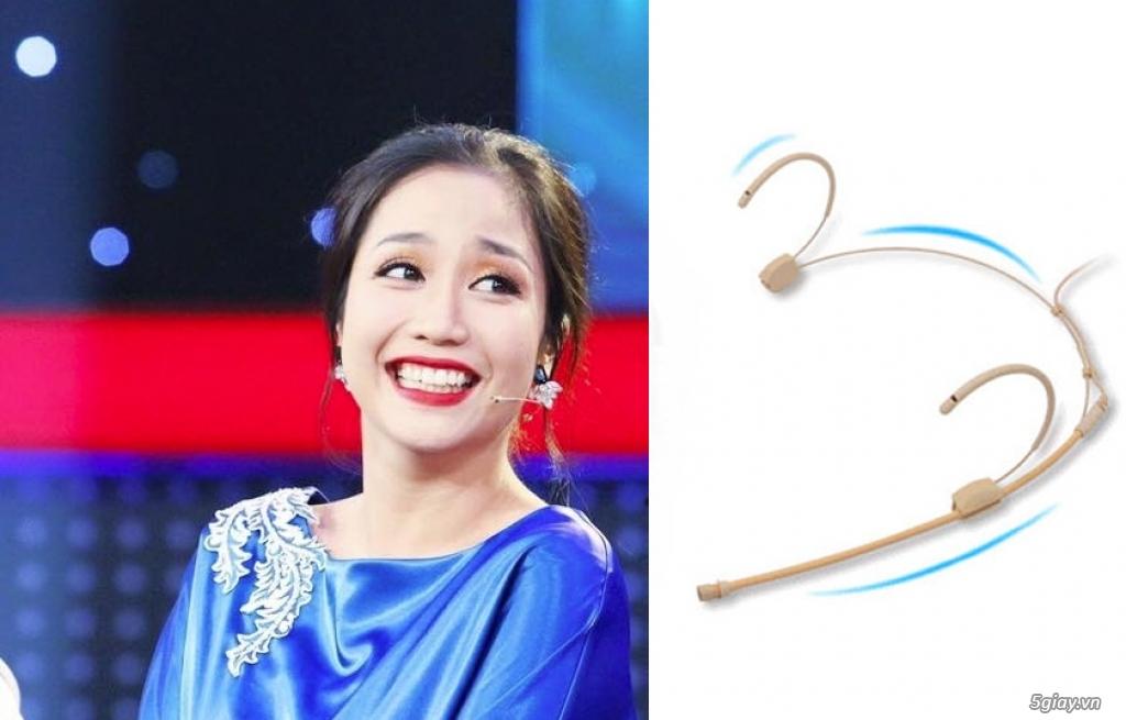 Top 5 Micro không dây đeo tai hát karaoke kết nối ampli có sẵn - 15