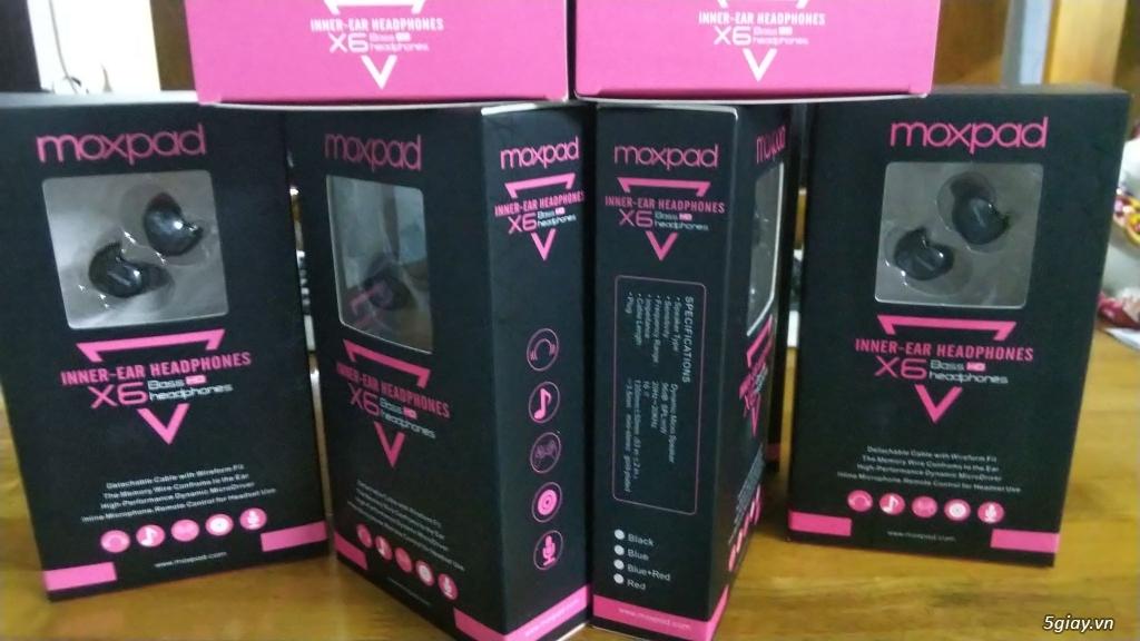 Tai nghe Moxpad X6 - Ngọt ngào và tình cảm