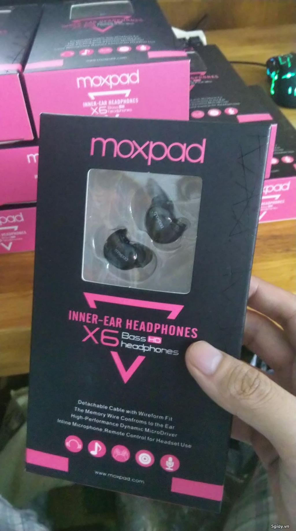 Tai nghe Moxpad X6 - Ngọt ngào và tình cảm - 1
