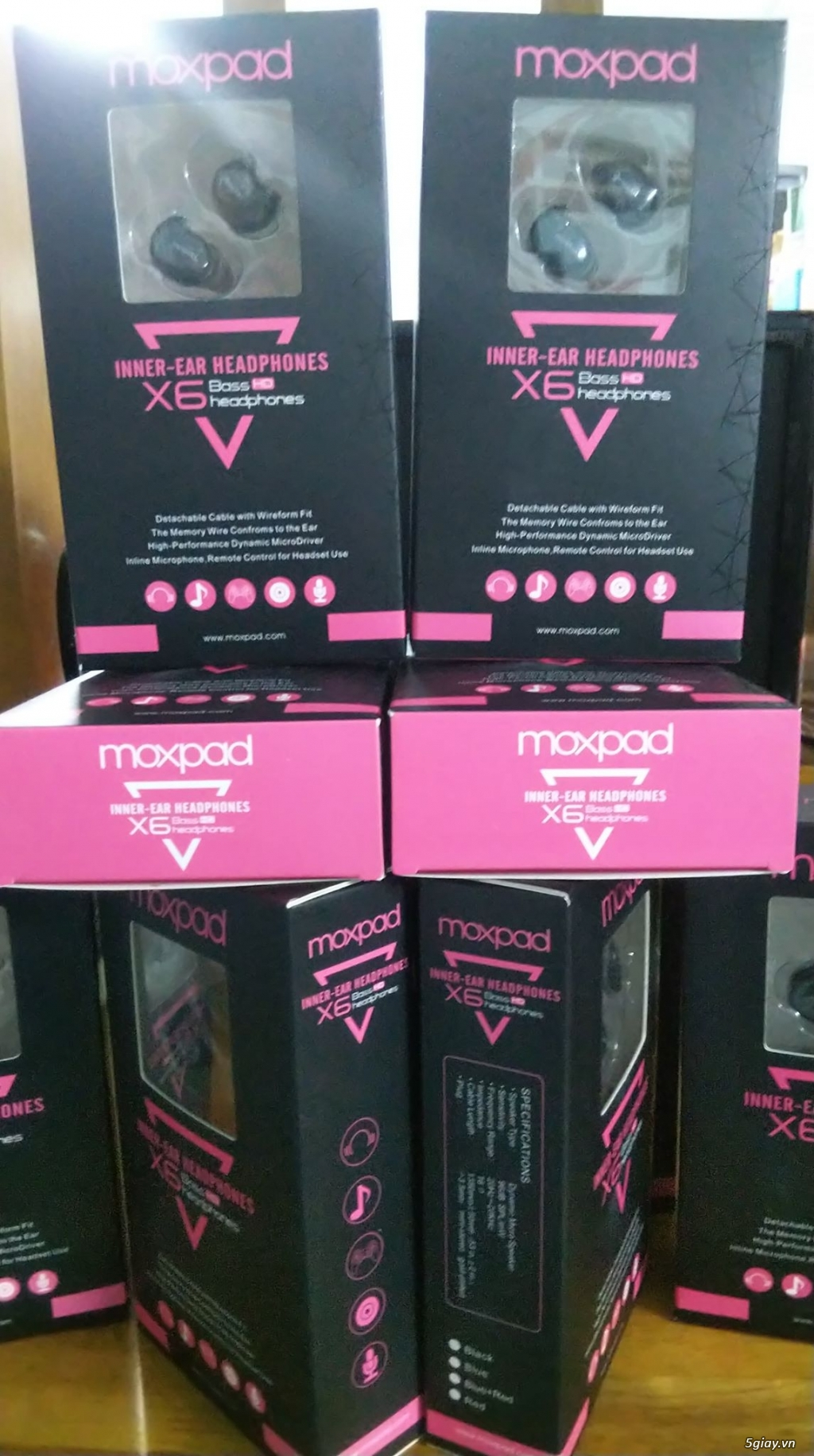 Tai nghe Moxpad X6 - Ngọt ngào và tình cảm - 2