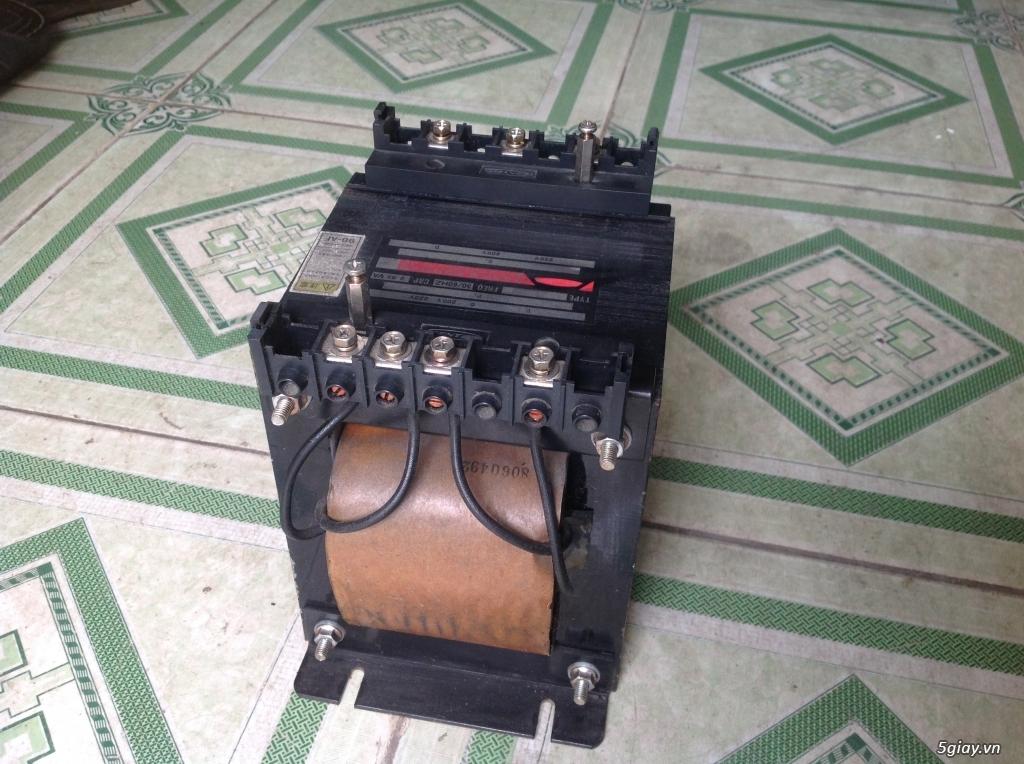 Biến áp cách ly Nhật 500VA -10KVA, lọc nguồn âm thanh..... - 16
