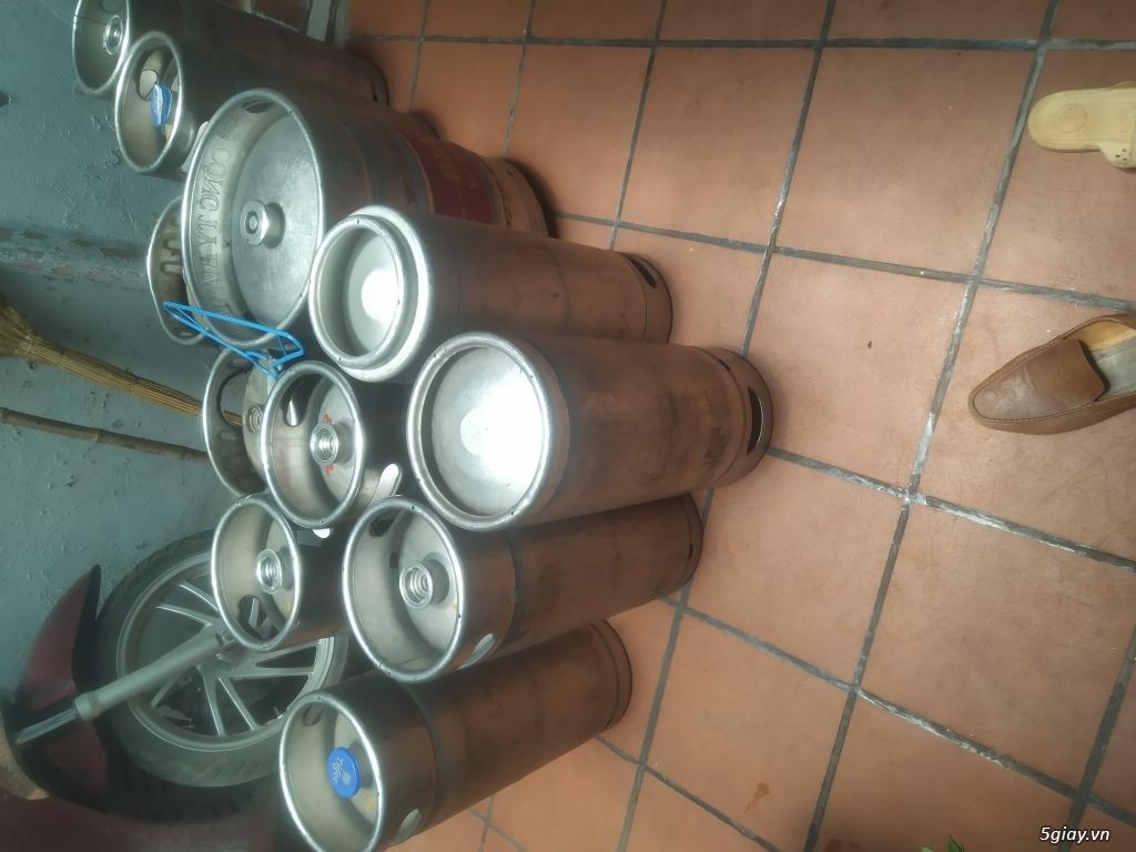 Chuyên thu mua bán các loại bom bia, vỏ bốc bia , keg bia đã qua sử dụng hoặc mới - 1