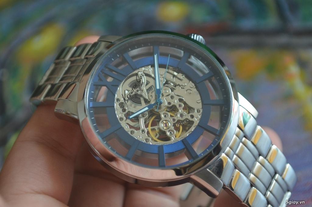 THANH LÝ đồng hồ KENNETH COLE NEW YORK Tự động lộ máy - 2