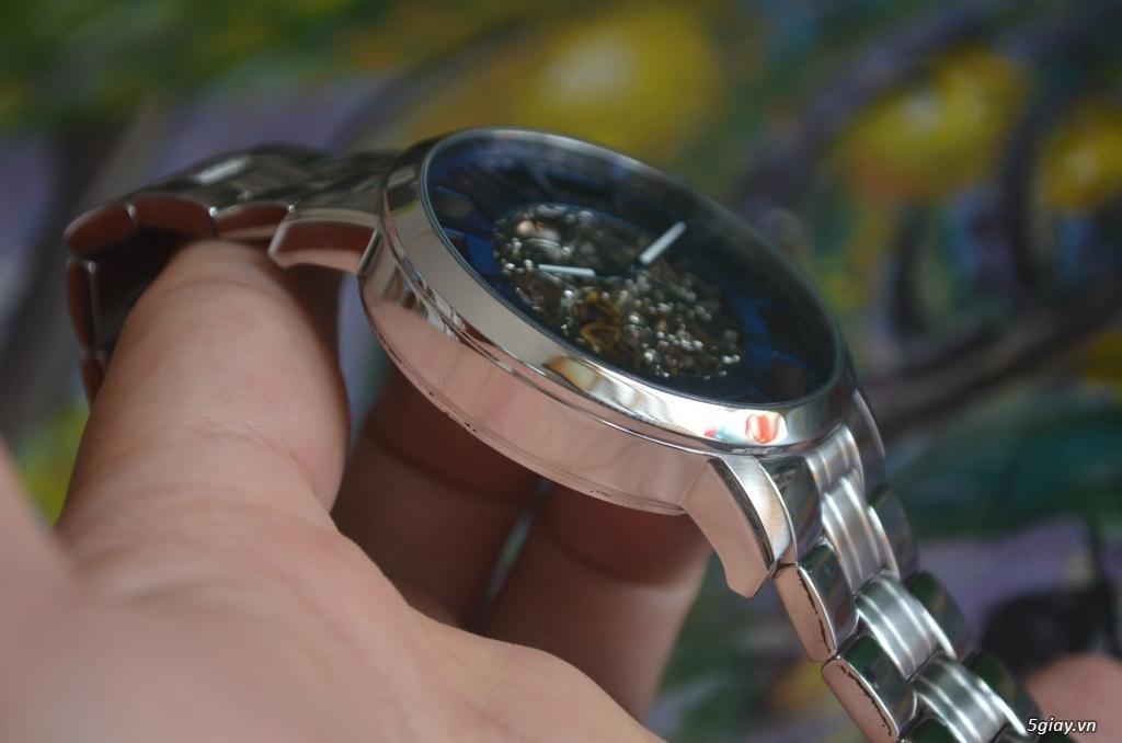 THANH LÝ đồng hồ KENNETH COLE NEW YORK Tự động lộ máy - 5