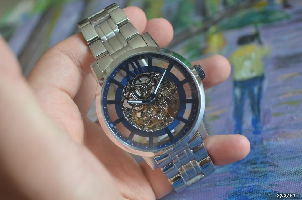 THANH LÝ đồng hồ KENNETH COLE NEW YORK Tự động lộ máy - 4