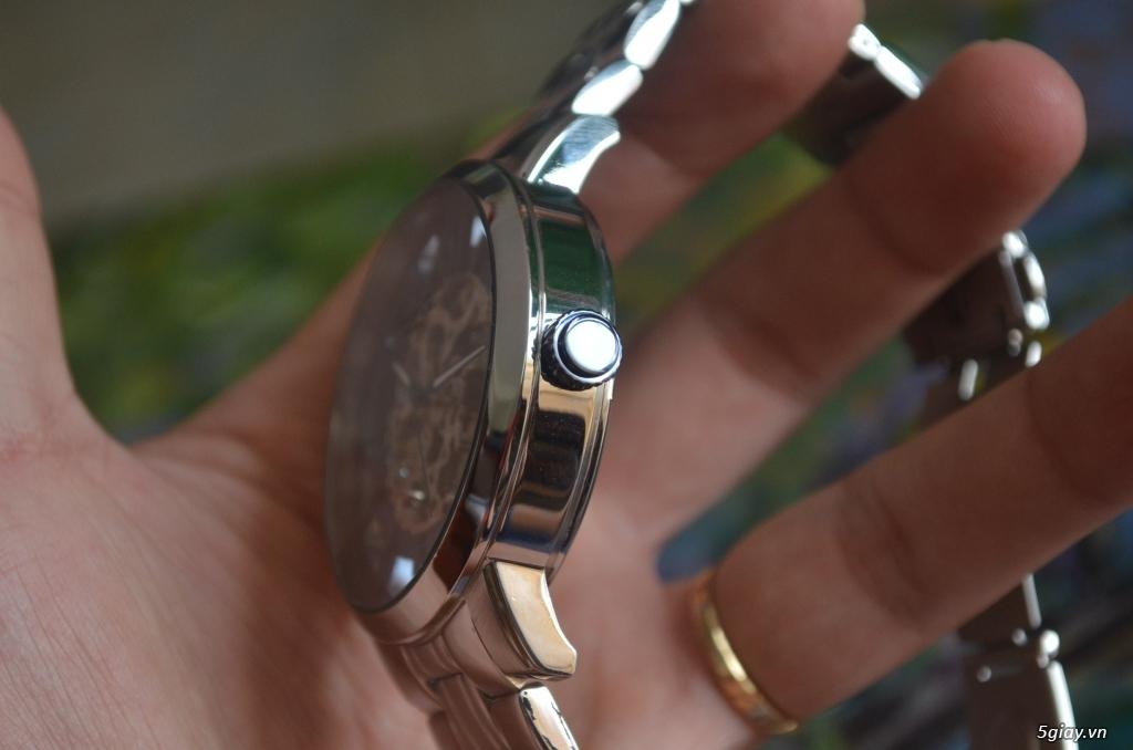 THANH LÝ đồng hồ KENNETH COLE NEW YORK Tự động lộ máy - 6