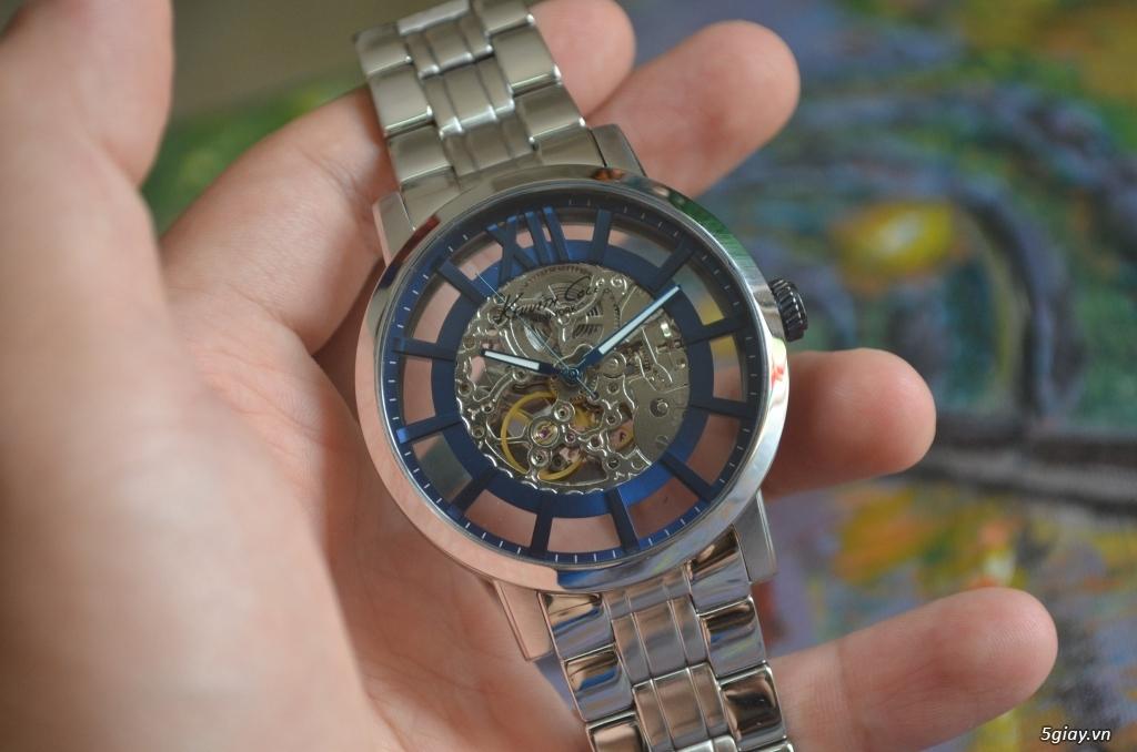 THANH LÝ đồng hồ KENNETH COLE NEW YORK Tự động lộ máy - 7