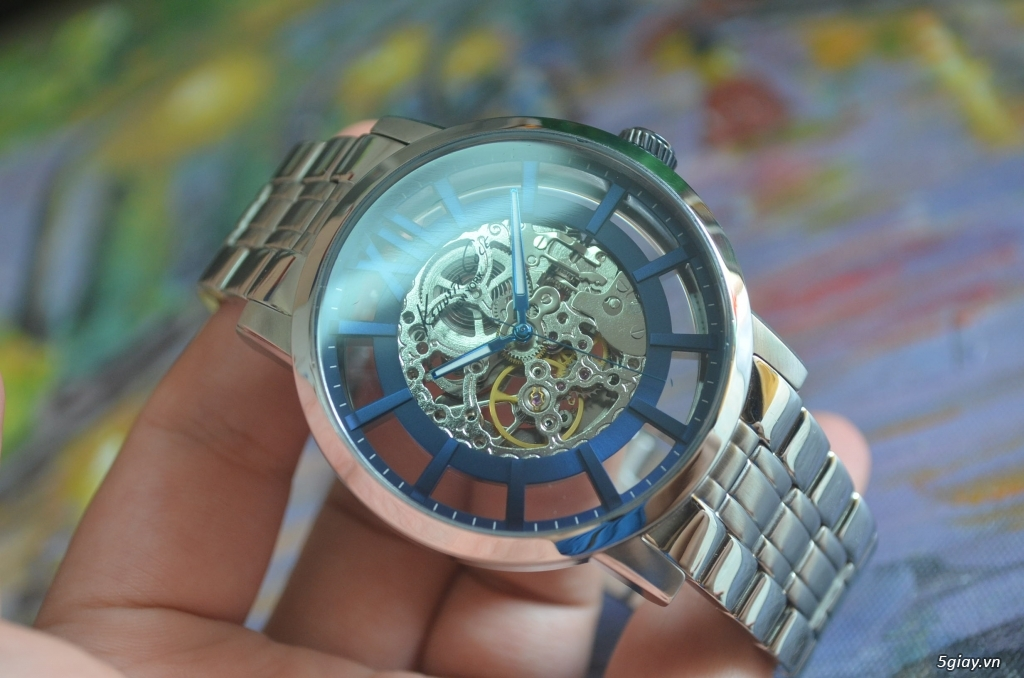 THANH LÝ đồng hồ KENNETH COLE NEW YORK Tự động lộ máy - 1