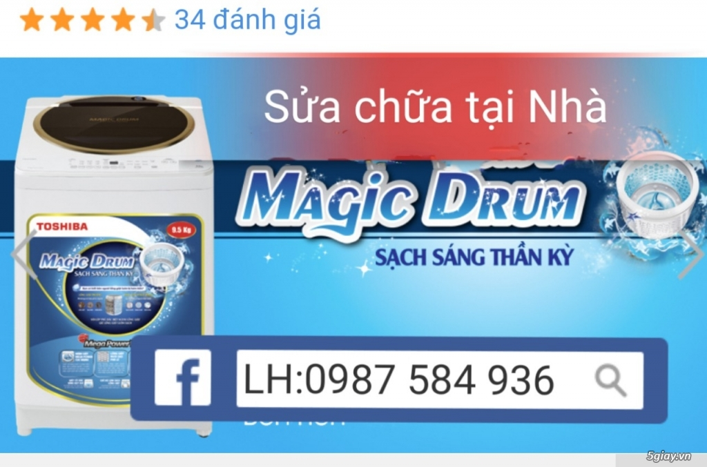 Sửa Máy Giặt Tại Trần Thái Tông .0987 584 936