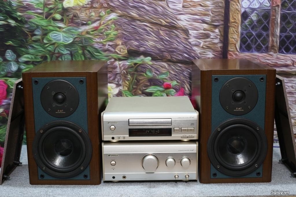 Đầu máy nghe nhạc MINI Nhật đủ các hiệu: Denon, Onkyo, Pioneer, Sony, Sansui, Kenwood - 5