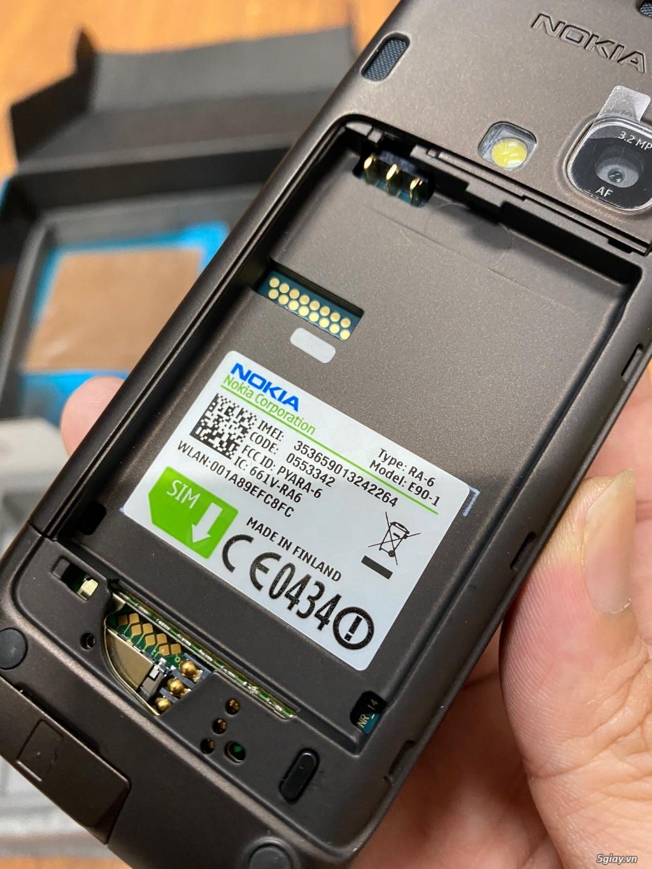 Hàng sưu tầm đỉnh : Nokia E90 Communicator Ger Brandnew nguyên hộp ! - 27