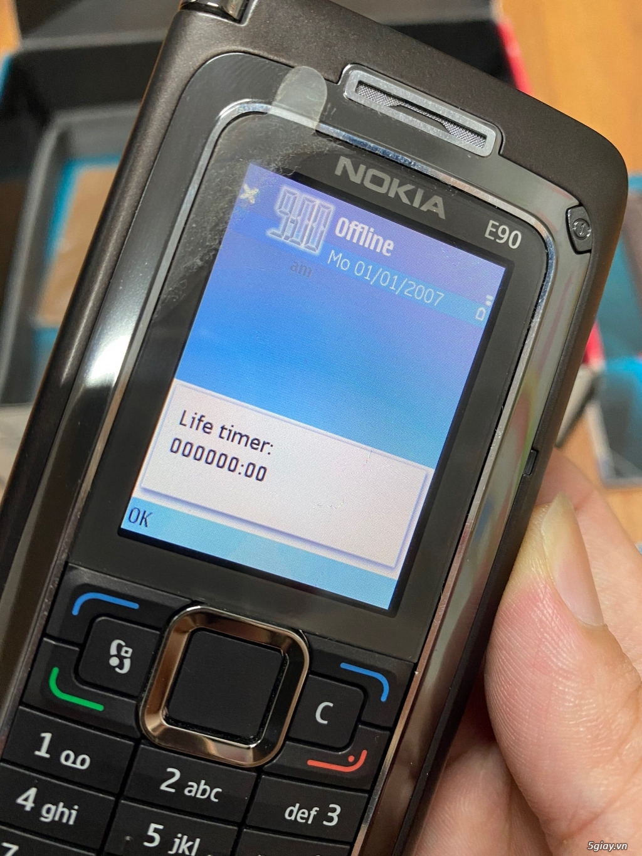 Hàng sưu tầm đỉnh : Nokia E90 Communicator Ger Brandnew nguyên hộp ! - 23
