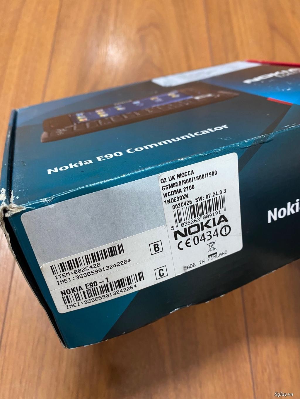 Hàng sưu tầm đỉnh : Nokia E90 Communicator Ger Brandnew nguyên hộp ! - 29