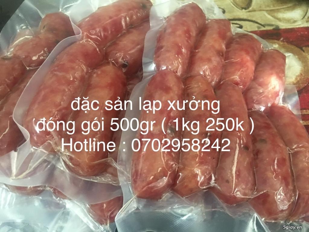 ( Bán hàng tết ) Đặc sản lạp xưởng (500gr/goi)  gọi mua ngay 0767912718