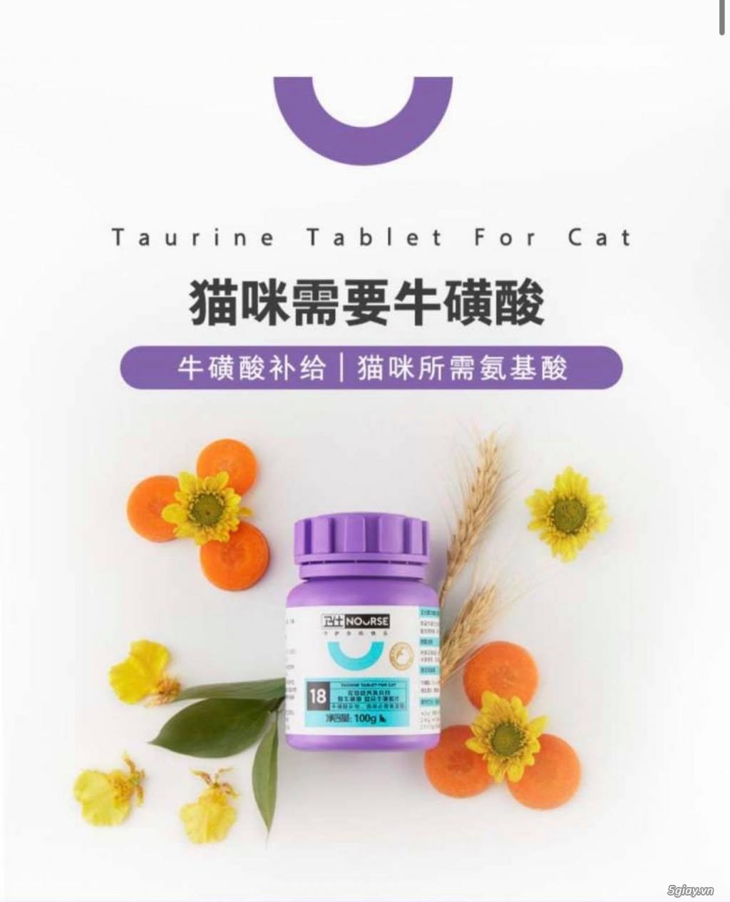 Dinh dưỡng cho mèo cung cấp Taurine tốt cho tim mạch (Nourse 200v) - 1