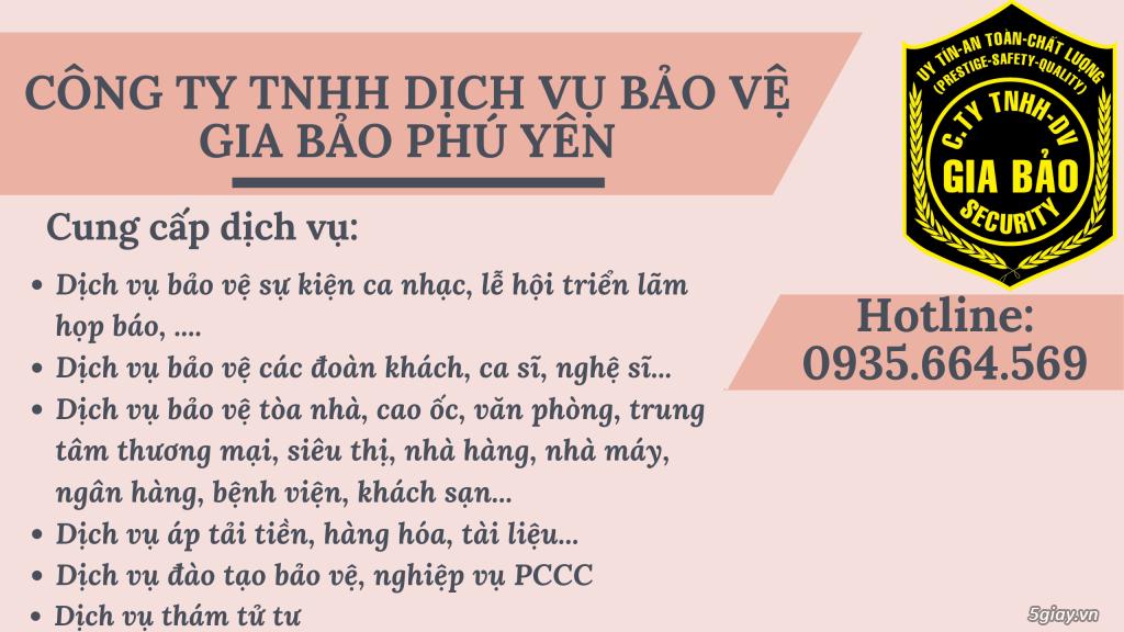 Bảo Vệ Uy Tín Chất Lượng Tại Tuy Hòa, Phú Yên - Nơi Gửi Trọn Niềm Tin