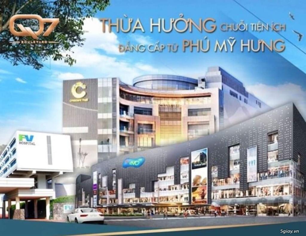 Mặt bằng Shophouse Q7 Boulevard  khu Phú Mỹ Hưng giảm ngay 6% tổng giá - 5
