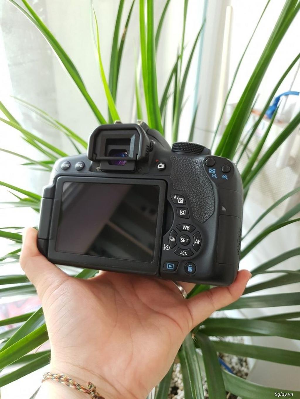 Combo Canon 750D + 18-55 STM - 1