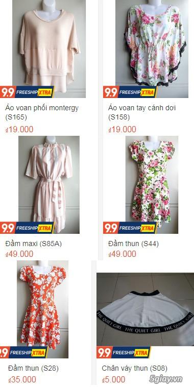 Xả hàng siêu rẻ quần áo, váy đầm, hàng mới và đã sử dụng còn đẹp - 1