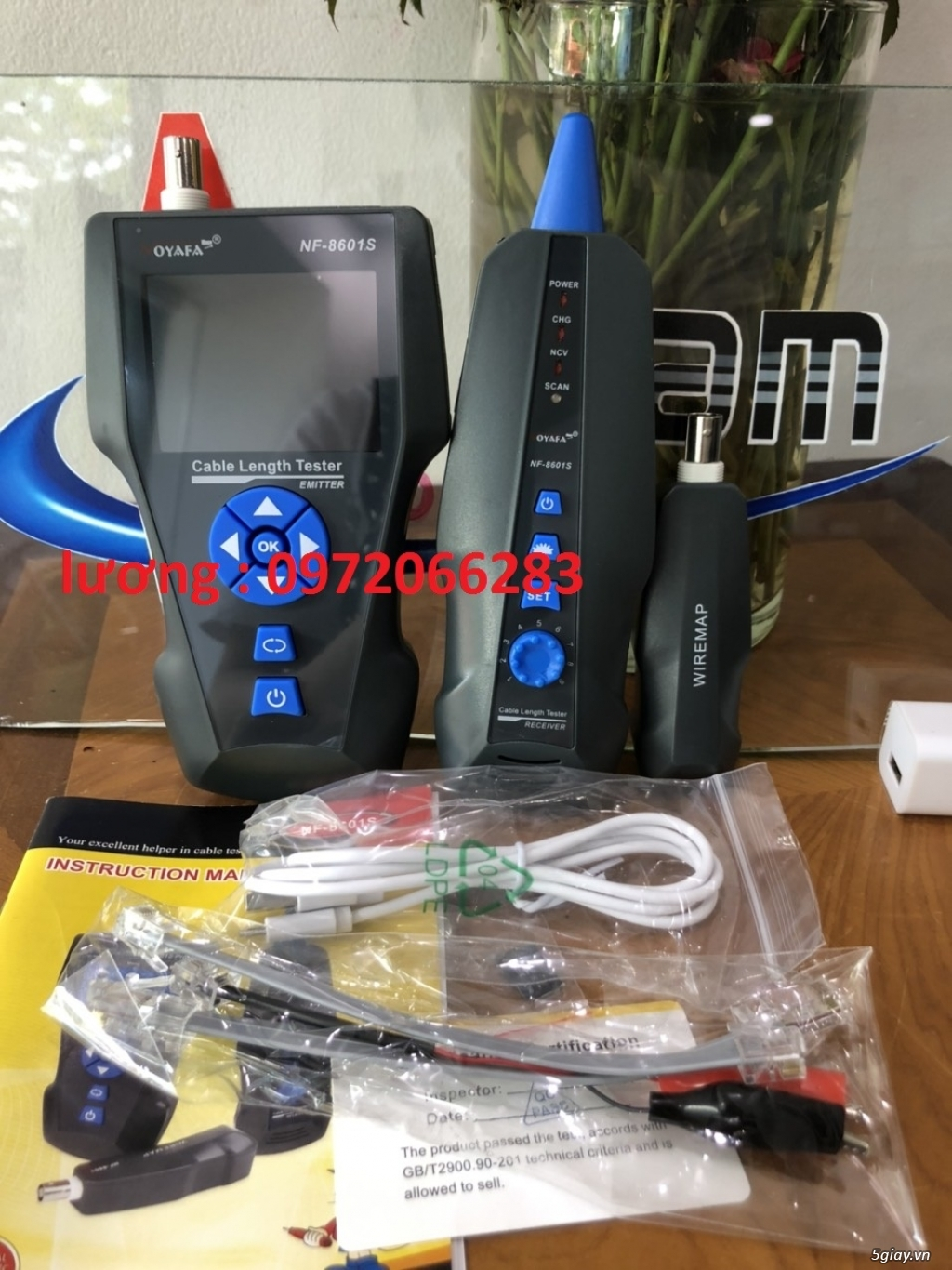 Máy test dây mạng NF-8601S sẵn hàng - 2