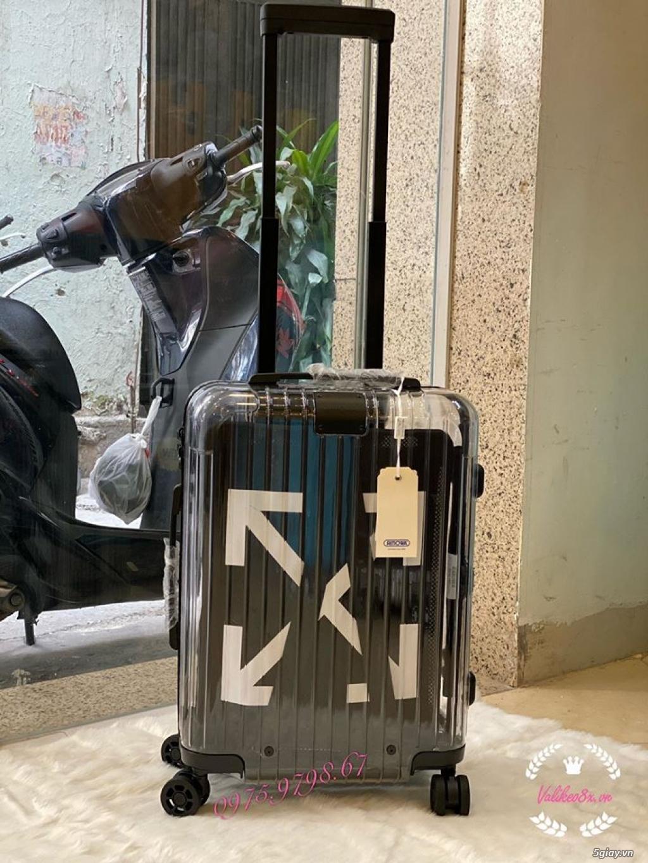 vali kéo rimowa x off white nhưa trong suốt, thời trang, cá tính - 1