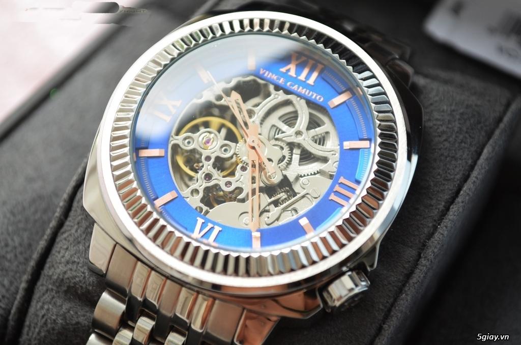 Đồng hồ Vince Camuto Automatic xanh tuyệt đẹp, thời thượng, giá tốt
