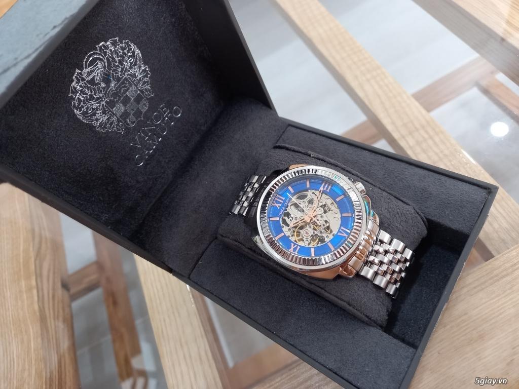 Đồng hồ Vince Camuto Automatic xanh tuyệt đẹp, thời thượng, giá tốt - 3