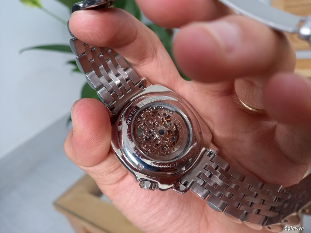 Đồng hồ Vince Camuto Automatic xanh tuyệt đẹp, thời thượng, giá tốt - 8