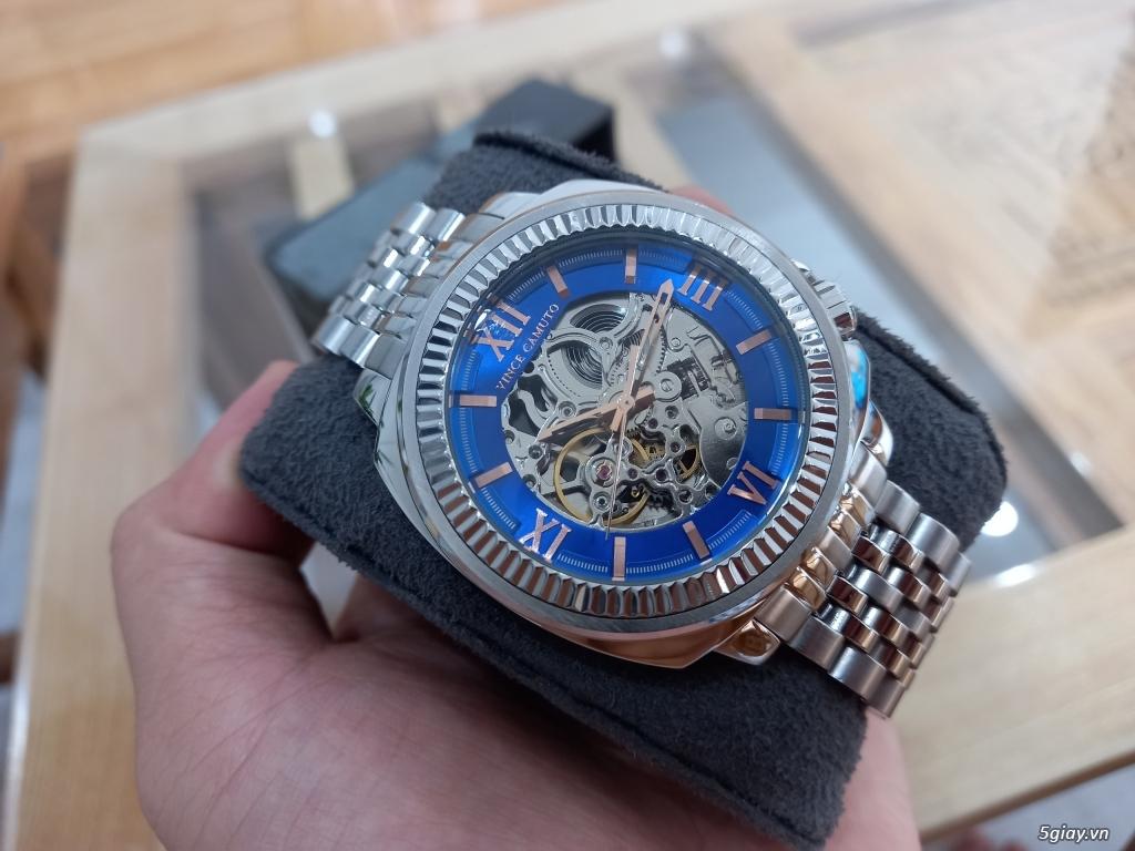 Đồng hồ Vince Camuto Automatic xanh tuyệt đẹp, thời thượng, giá tốt - 1