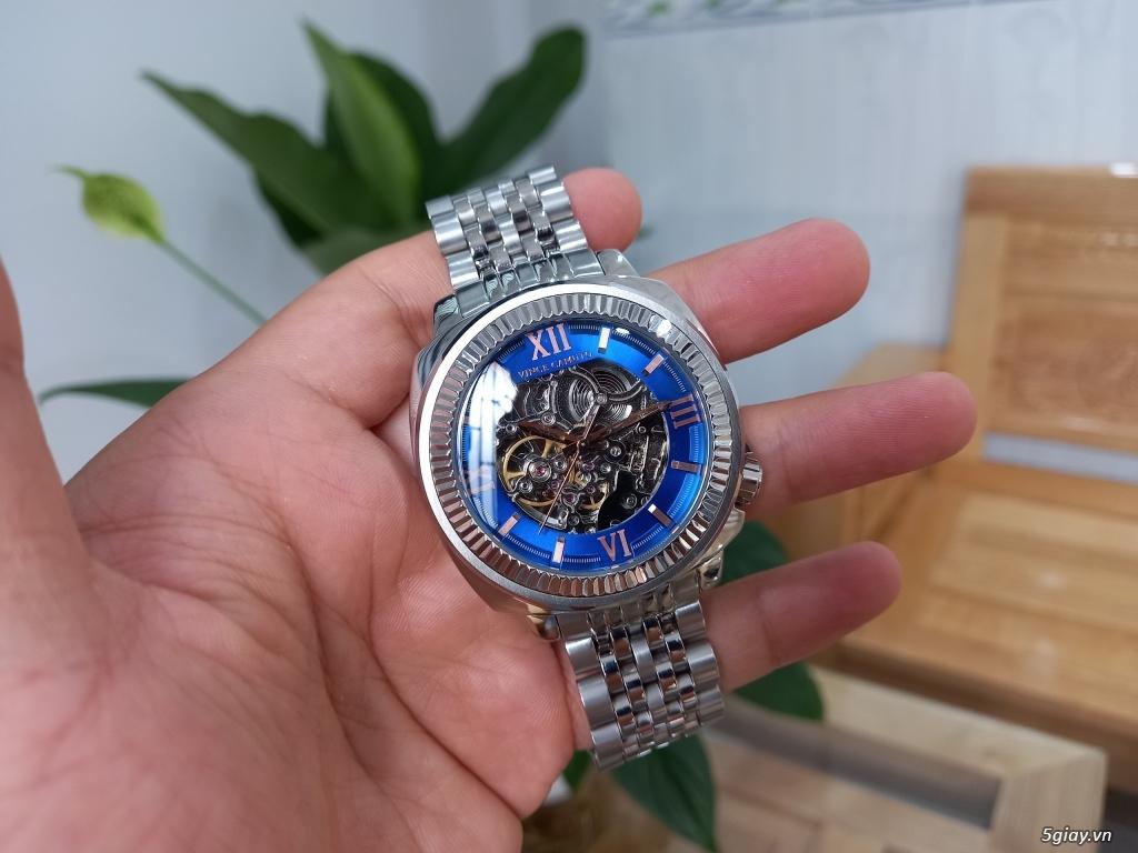 Đồng hồ Vince Camuto Automatic xanh tuyệt đẹp, thời thượng, giá tốt - 4