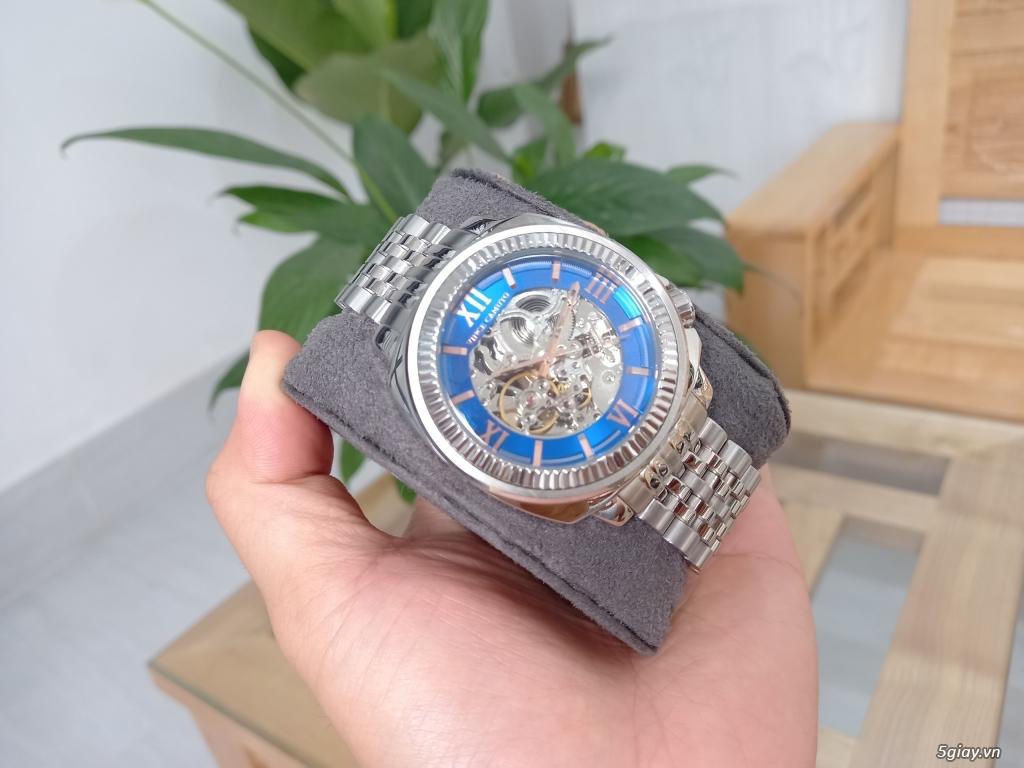 Đồng hồ Vince Camuto Automatic xanh tuyệt đẹp, thời thượng, giá tốt - 6