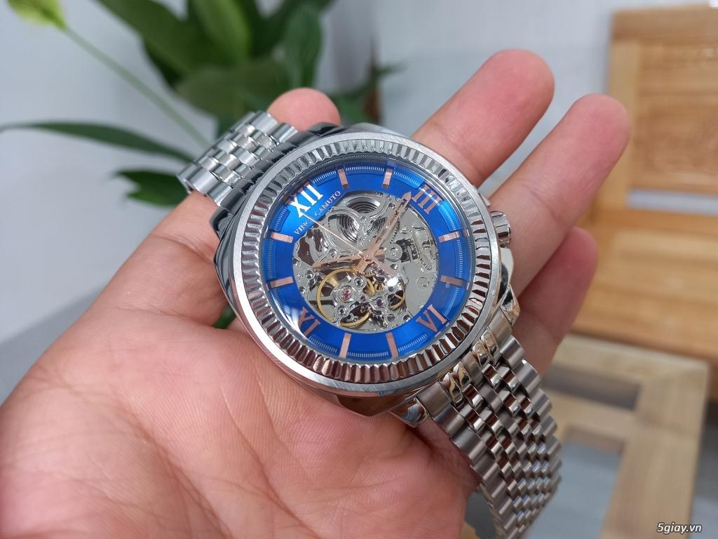 Đồng hồ Vince Camuto Automatic xanh tuyệt đẹp, thời thượng, giá tốt - 5