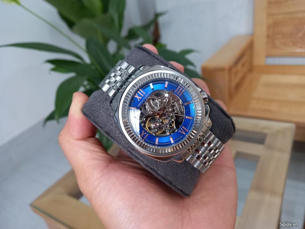 Đồng hồ Vince Camuto Automatic xanh tuyệt đẹp, thời thượng, giá tốt - 2