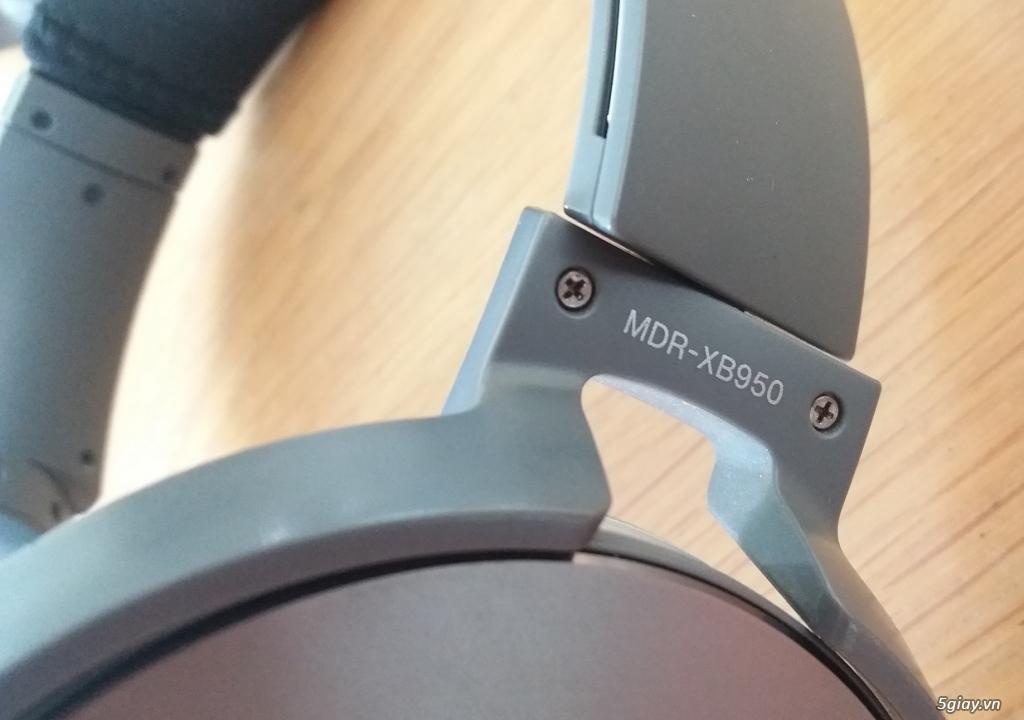 Headphone Sony MDR-XB950 có tích hợp Mic - End 22h59 ngày 13/9/2020 - 3