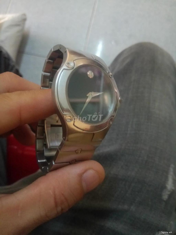 Dư sài bán rẻ lại cho ai cần đồng hồ MOVADO SPORTS EDITION 9 hãng