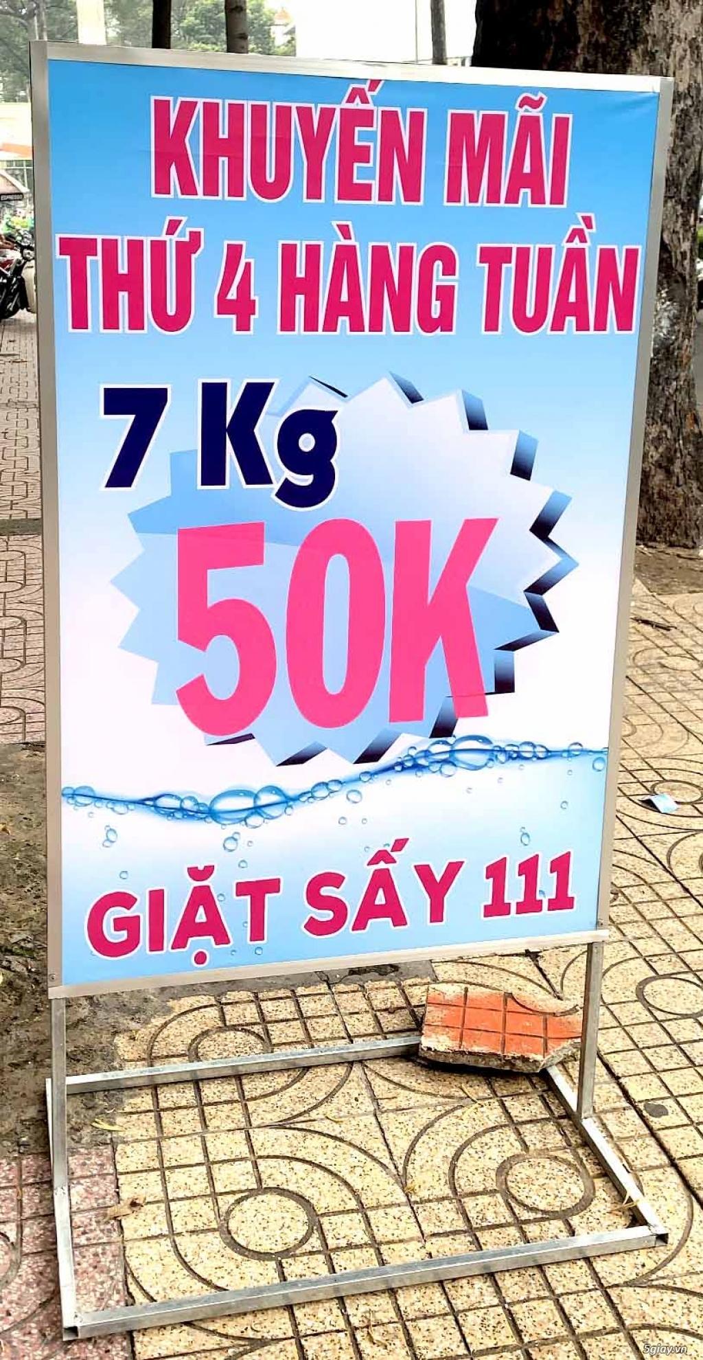 Giặt Sấy 111 - tuần lễ khai trương đến 9/9 - giá siêu hot chỉ 45k/ 7kg