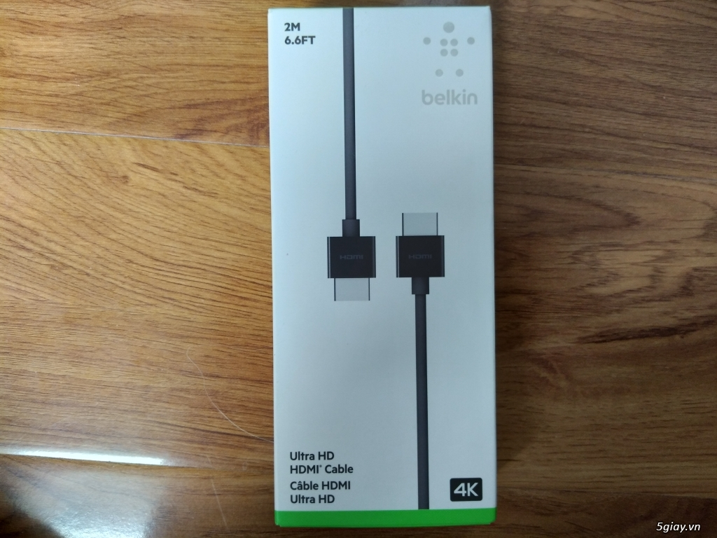 Dây cáp bekin Ultra HD HDMI Cable - 1