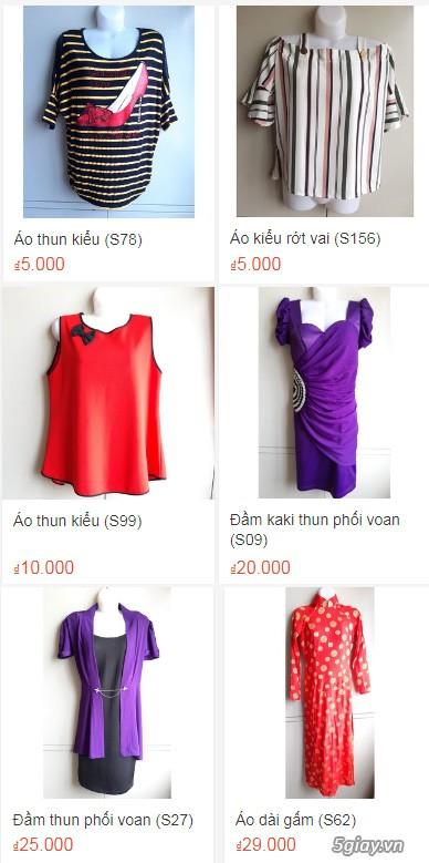 Xả hàng siêu rẻ quần áo, váy đầm, hàng mới và đã sử dụng còn đẹp - 2