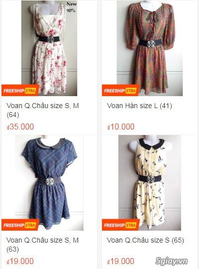 Xả hàng siêu rẻ quần áo, váy đầm, hàng mới và đã sử dụng còn đẹp - 3