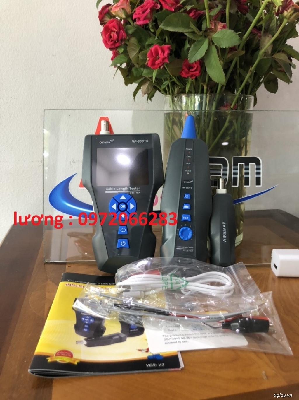 NF-8601S Đa Chức Năng RJ45, RJ11, BNC, kim loại Cáp, PING/POE, kết xuấ - 12