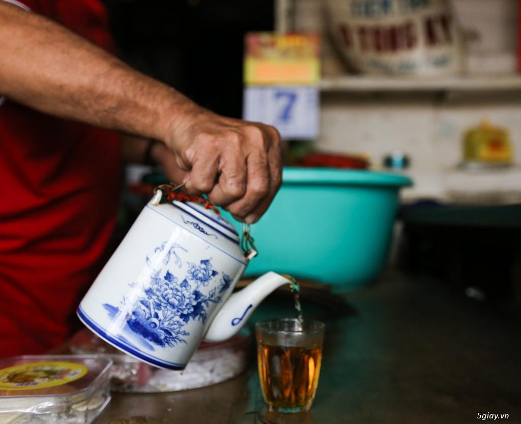 Đồ cũ Sài Gòn xưa - Bình trà sành ET 23h00 23/09/20