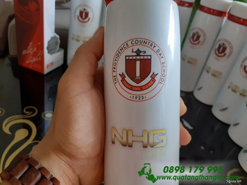 Bình Giữ Nhiệt lock & lock in khắc logo giá rẻ quà tặng - 3