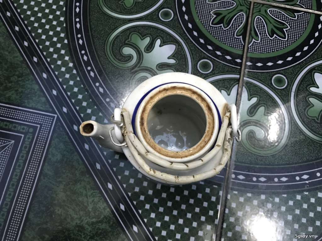Đồ cũ Sài Gòn xưa - Bình trà sành ET 23h00 23/09/20 - 3