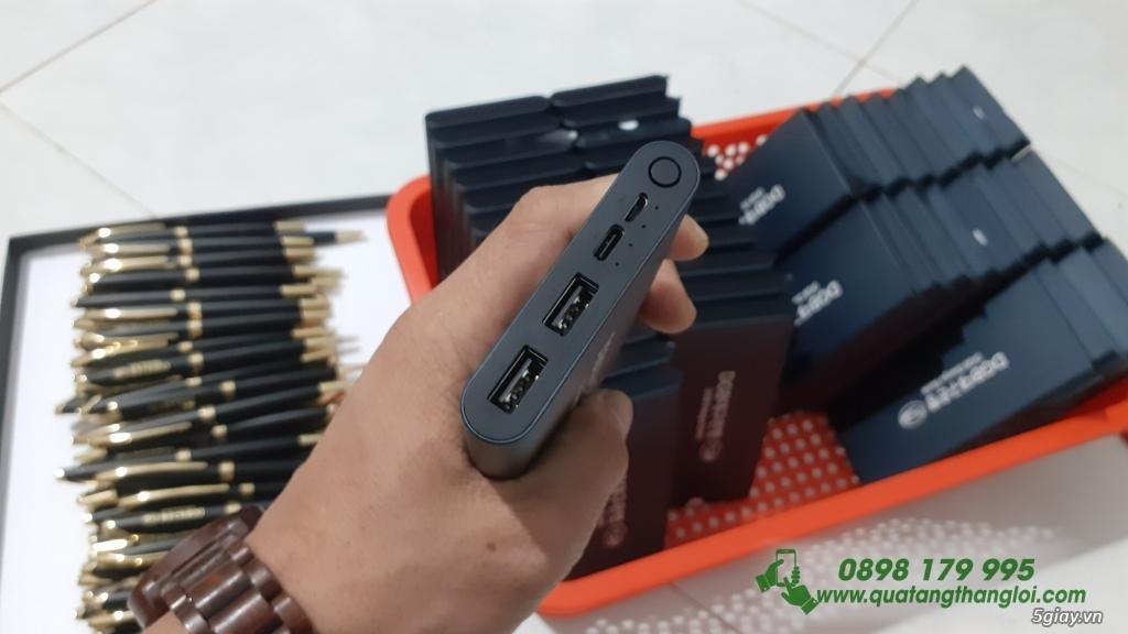 Pin Sạc Dự Phòng Xiaomi Gen3 10000mAh in khắc logo giá rẻ - 3